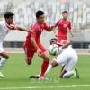 〈인천 아시아대회・남자축구〉준준결승, 1-0으로 아랍추장국련방팀을 타승
