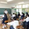 학생, 교원들의 호기심을 자극/제1차 지바현조일교육연구모임