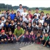 이바라기 초중급부생이 가을걷이체험/고구마, 홍당무, 쌀을 수확