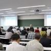 센슈대학에서 《일본에서의 인종차별을 생각하는 심포쥼》