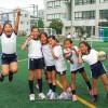 이꾸노초급 인공잔디운동장완공/학생, 동포들의 기쁨의 목소리