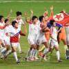 〈인천 아시아대회・녀자축구〉조선팀이 금메달, 아시아의 왕자로