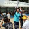 청상회가 주최하는 가족대항운동회/오사까 야오가시와라지역에서