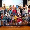 지역청상회주최로 110여명 참가/오사까후꾸시마초급에서 크리스마스모임
