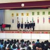 서로공연 피로,15m김밥만들기도/시꼬꾸초중,일본소학교와교류