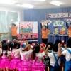 효고의 3지부가 공동주최/학령전어린이 위한 크리스마스모임