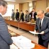松代大本営문제 나가노시에 20,327명의 서명제출