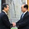 김영남위원장이 재일본조선인대표단을 만나 담화