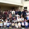 50명 동포, 학생들이 즐거운 한때/총련군마 쥬호꾸지부 태양절행사