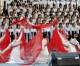 〈어서 오세요 1〉1,000명이상이 출연하는 동포경축무대