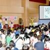 아이들의 미래 이야기하는 마당으로/도꾜도청상회가 꽃봉오리페스타 개최