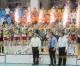 국제경기에서 우승한 조선녀자배구팀