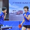 신진선수들에 의한 치렬한 열전/국제탁구련행 세계순회경기대회 평양에서 개최