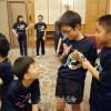 이꾸노초급 2선수가 동아시아호프스탁구대회에 출전