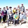 등산협회결성 20돐기념/제20차 재일동포대등산대회, 西穂에서 155명이 참가