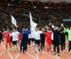 북남로동자축구대회, 5월1일경기장의 열기띤 함성