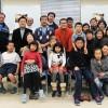 《하나의 대가정》으로 화목한 동포동네를/총련 히가시오사까지부 효딴야마분회 새해모임