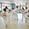 도호꾸초중학생들을 위해 권도훈련