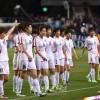 【사진특집】〈올림픽녀자축구 아시아최종예선〉조선 대 일본
