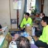 구마모또지진, 각지 동포들이 합심하여 지원사업/아소시의 피해동포 3호를 방문