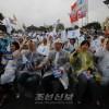 《민간교류차단정책 즉시 시정하라》/남조선 각계층, 림진각에서 민족통일대회 개최