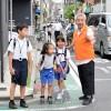 총련도꾜 아라까와지부 미까와시마분회/도꾜제1초중 안전등교지원활동