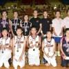 〈제14차 해바라기컵〉《재일조선학생소년롱구단》에 선출된 선수들