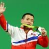 〈리오 데 쟈네이로올림픽〉남자력기 56kg급, 엄윤철선수가 은메달