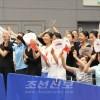 〈인터하이・권투〉회장을 홈으로 변하게 한 응원단/개최지 히로시마 동포들