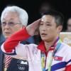 〈리오 데 쟈네이로올림픽〉남자체조 조마운동경기에서 리세광선수가 금메달