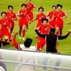 〈U-17녀자축구〉준준결승, 조선팀이 가나팀을 타승