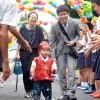 6명 받아들여 2살보육 실시/이꾸노초급 입원축하모임