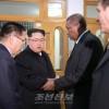 김정은원수님, 피델 까스뜨로 루쓰동지의 서거에 즈음하여 조선주재 꾸바대사관을 방문하시고 조의를 표시
