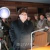 김정은원수님, 길영조영웅추격기련대 전투비행사들의 야간습격전투비행훈련을 지도