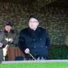 김정은원수님, 증강한 땅크장갑보병련대 겨울철도하공격전술연습을 지도