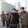 김정은원수님, 려명거리건설장을 현지지도