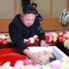 김정은원수님, 고 강기섭총국장의 령구를 찾으시여 깊은 애도의 뜻을 표시