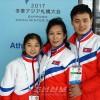 〈삿보로 아시아대회〉제2진 선수단 도착/빙상휘거쌍경기 선수들