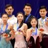 〈삿보로 아시아대회〉조선선수가 동메달 획득, 빙상휘거쌍경기에서