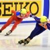 〈삿보로 아시아대회〉짧은주로속도빙상경기/남자 5,000m계주경기 준결승 진출