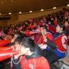 〈삿보로 아시아대회〉열광적인 성원을 보낸 동포응원단