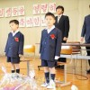 〈2017학년도 입학식〉4년만에 초급부생이 입학/도찌기초중