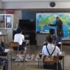 초급부 《영어》수업 각지에서 시작/금학년도는 초급부 5학년에서