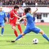 우즈베끼스딴팀을 4-0으로 이겼다/AFC녀자아시아컵경기대회 예선 2조경기
