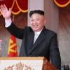 김정은원수님 참석밑에 김일성주석님 탄생 105돐경축 열병식 및 평양시군중시위 거행