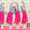 조선학생의 름름한 모습을 과시/쯔꾸바국제교류페어2017
