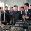김정은원수님, 락랑영예군인수지일용품공장을 현지지도
