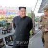 김정은원수님께서 인민무력성 기공구, 마감건재품 및 과학기술성과전시회장을 돌아보시였다