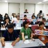 남조선농민대표단이 일본방문, 조선학교에 대한 차별반대를 촉구