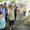 """""""당신을 만났습니다!""""/남조선농민대표단, 《무명전사의 묘》에서 읊은 추도시"""